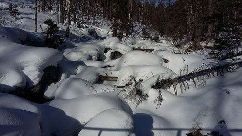 tatry winter sun