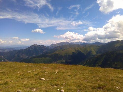 tatry clouds wołowiec