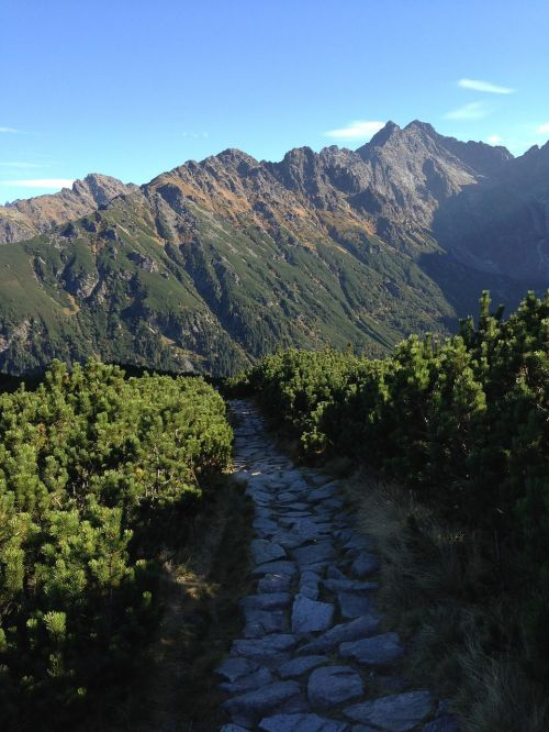 tatry mountains trail