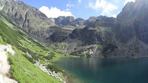 tatry mountains pond