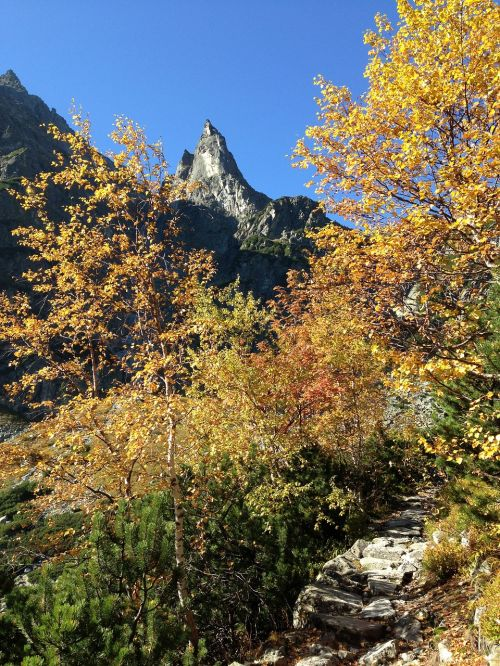 tatry mountains autumn
