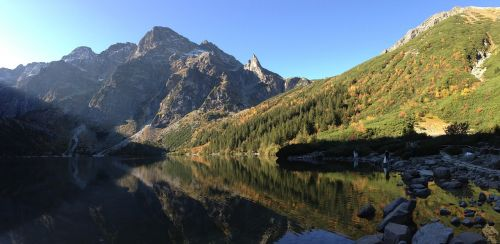 tatry mountains morskie oko