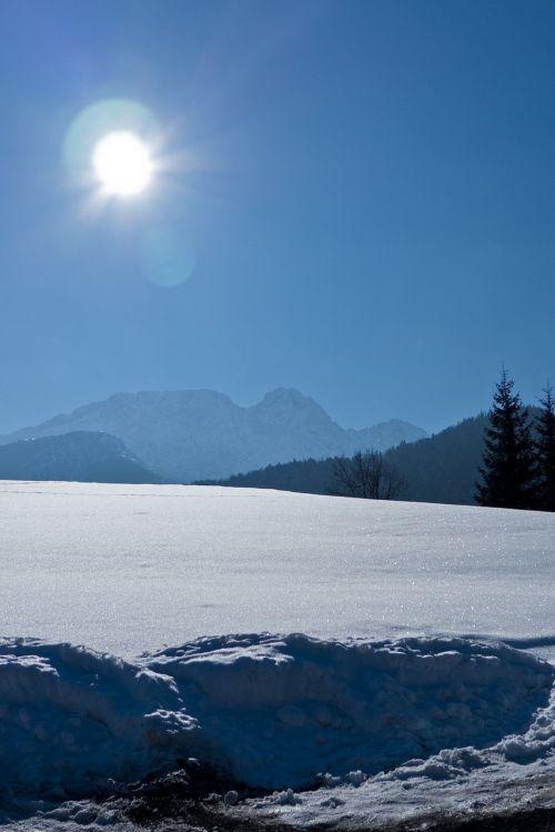 tatry view winter