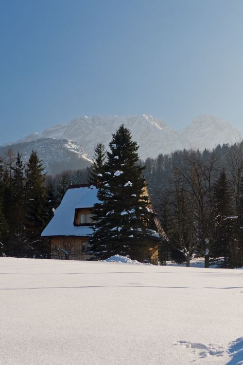 tatry mountains winter