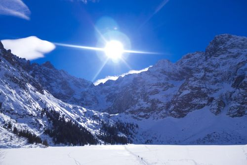 tatry mountains winter in the mountains