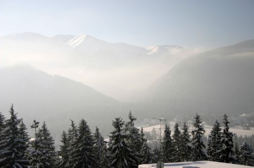 tatry winter buried
