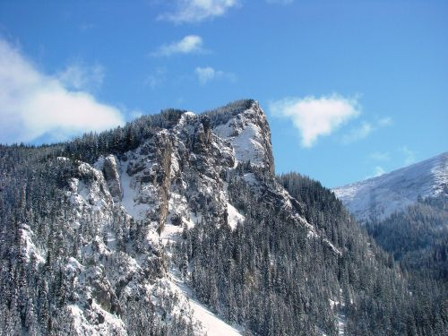 tatry winter winter in the mountains