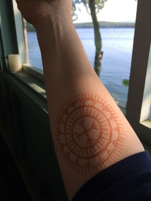 tattoo arm lake