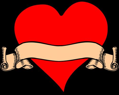 tattoo heart old tattoo