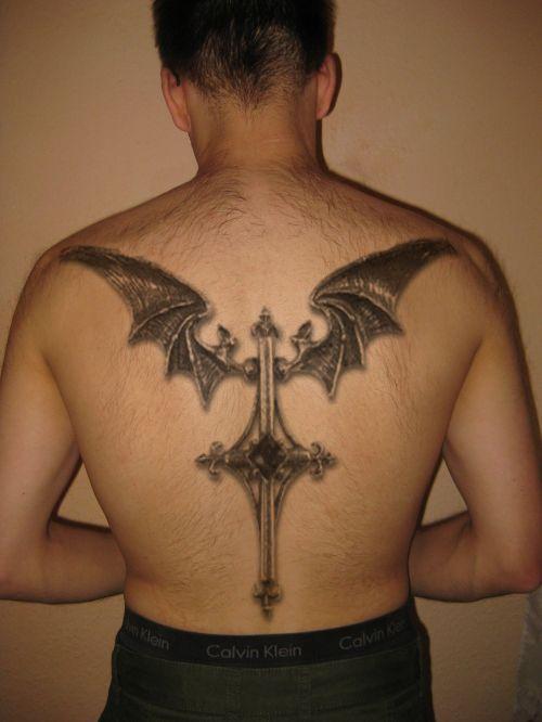 tattoo man move