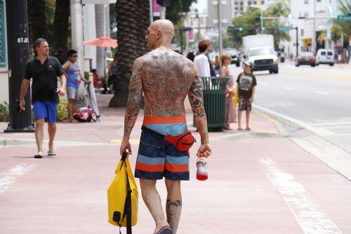 tattoo city man