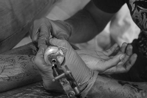 tattoo artist tattooing tattoo guatemala