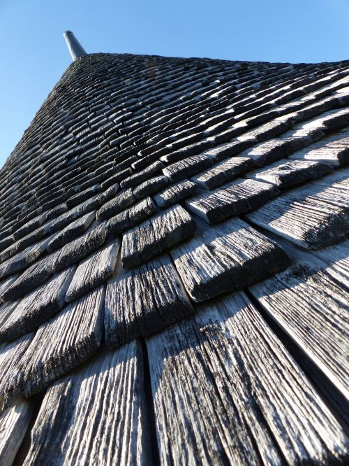 tavaillon roofing conical