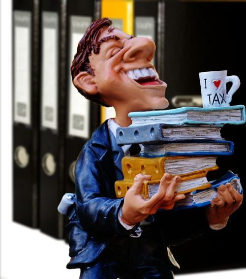 tax consultant office files