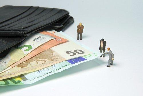 tax office  fine  miniature figures