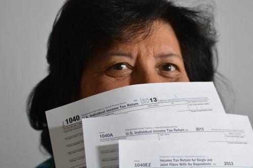 taxes bills 1040