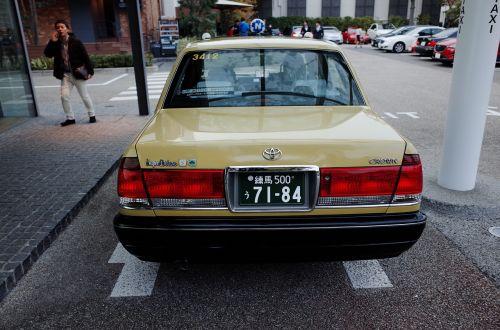 taxi tokyo toyota