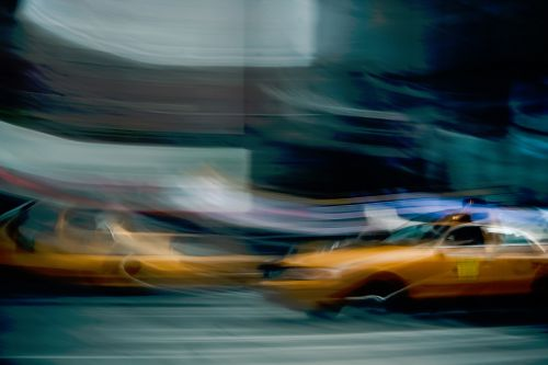 taxi cabs motion