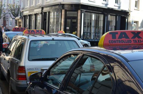 taxi drivers transport