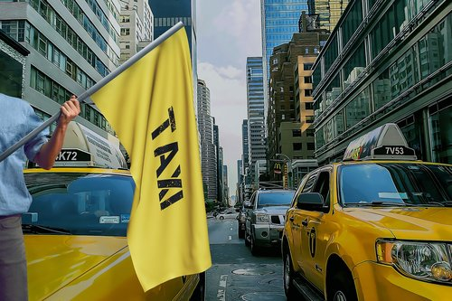 taxi  new york  nyc