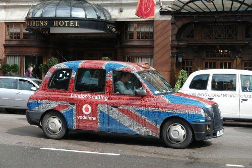 taxi car london
