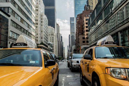 taxi cab traffic cab