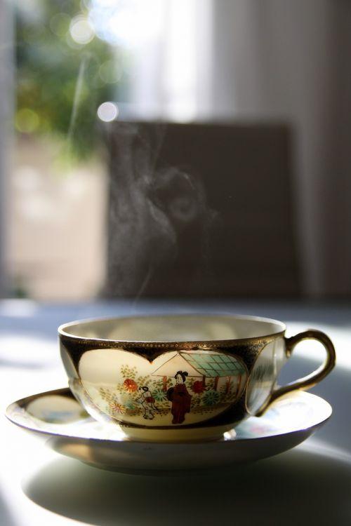 tea warm cup