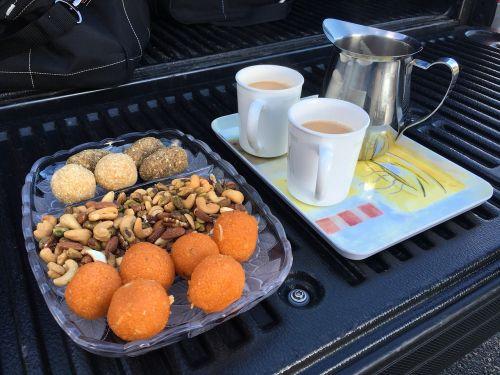 tea laddu chai