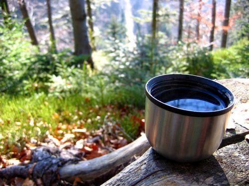 tea mountains vacuum flask