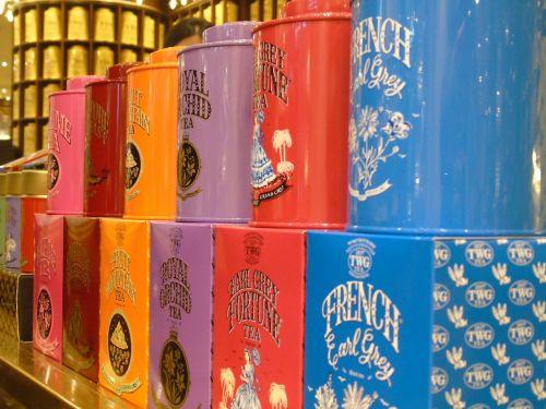 tea tea leaves tins