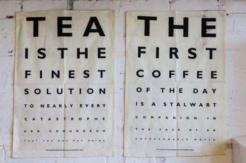 poster design tea