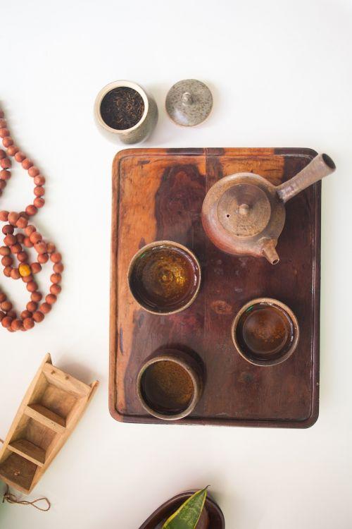 tea tea set tea tray
