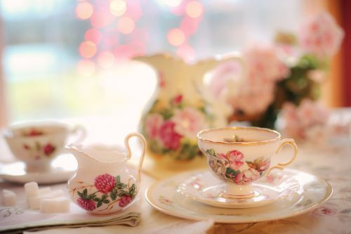 tea tea party pink