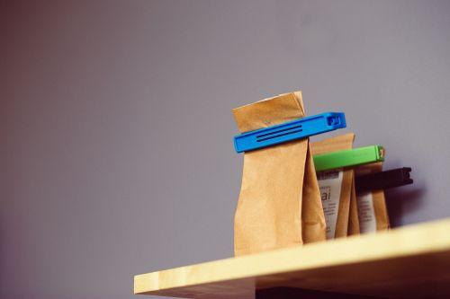 tea paper bags clips