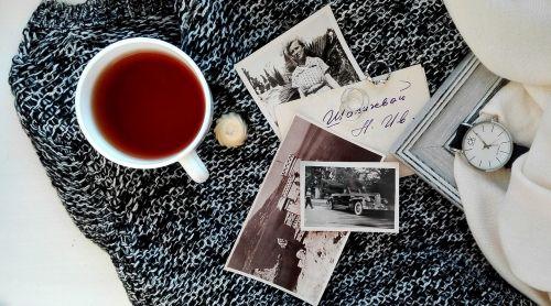 tea photos black and white