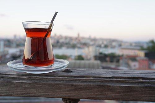 tea  istanbul  landscape