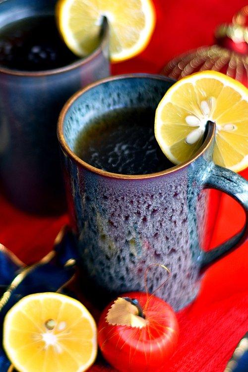 tea  herbal  lemon
