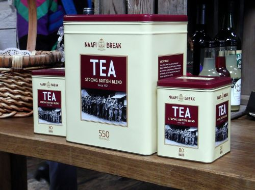 tea tins marketing