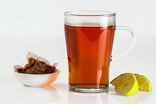 Tea In Glass Cup