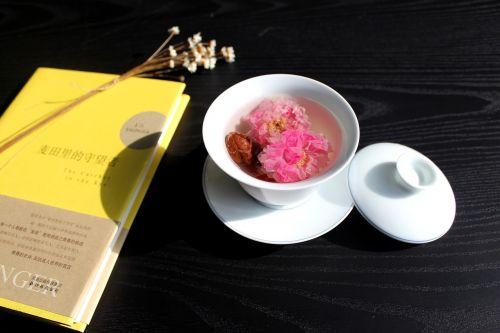 tea rose corolla cafe cup
