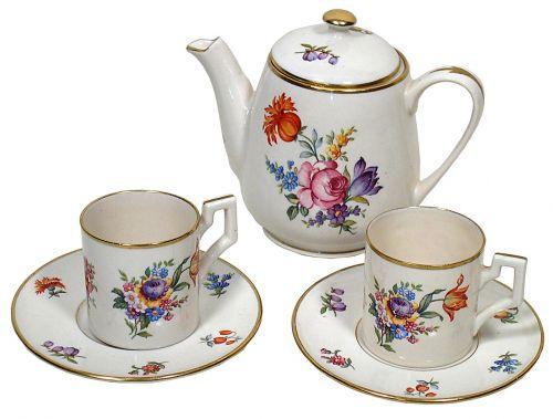tea set saucer cup