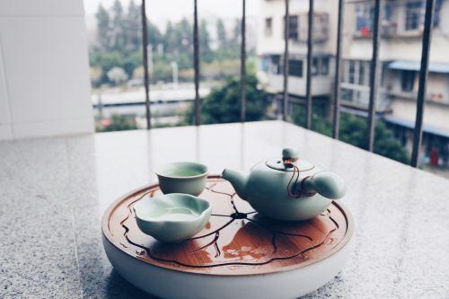tea set tea leisure