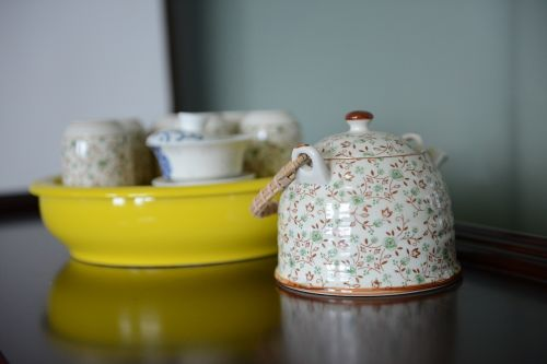 tea set teapot tea cup