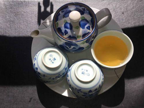tea set tea pot green tea