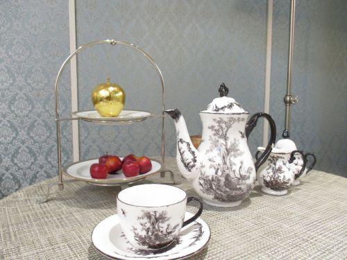 tea set cup saucer
