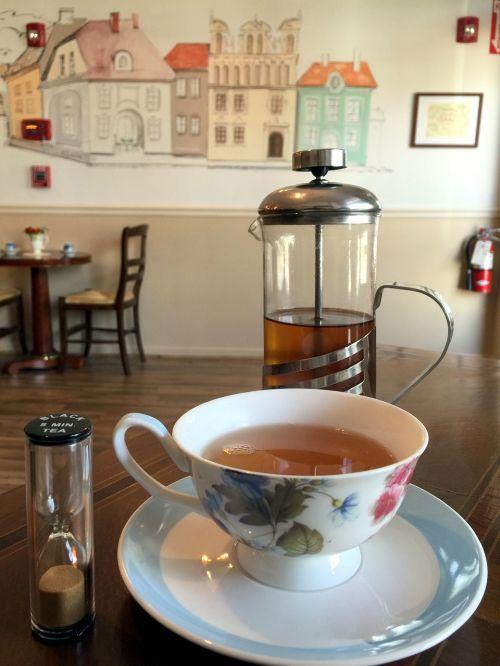 tea shop tea cup tea