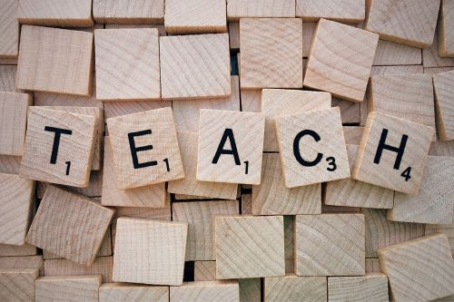 teach word scrabble