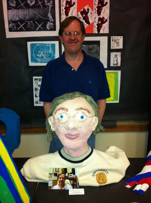 teacher art artwork