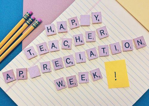 teacher appreciation week teacher educator