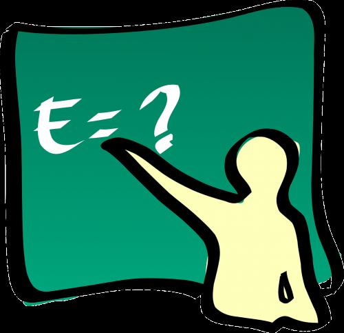 teacher theory of relativity equation